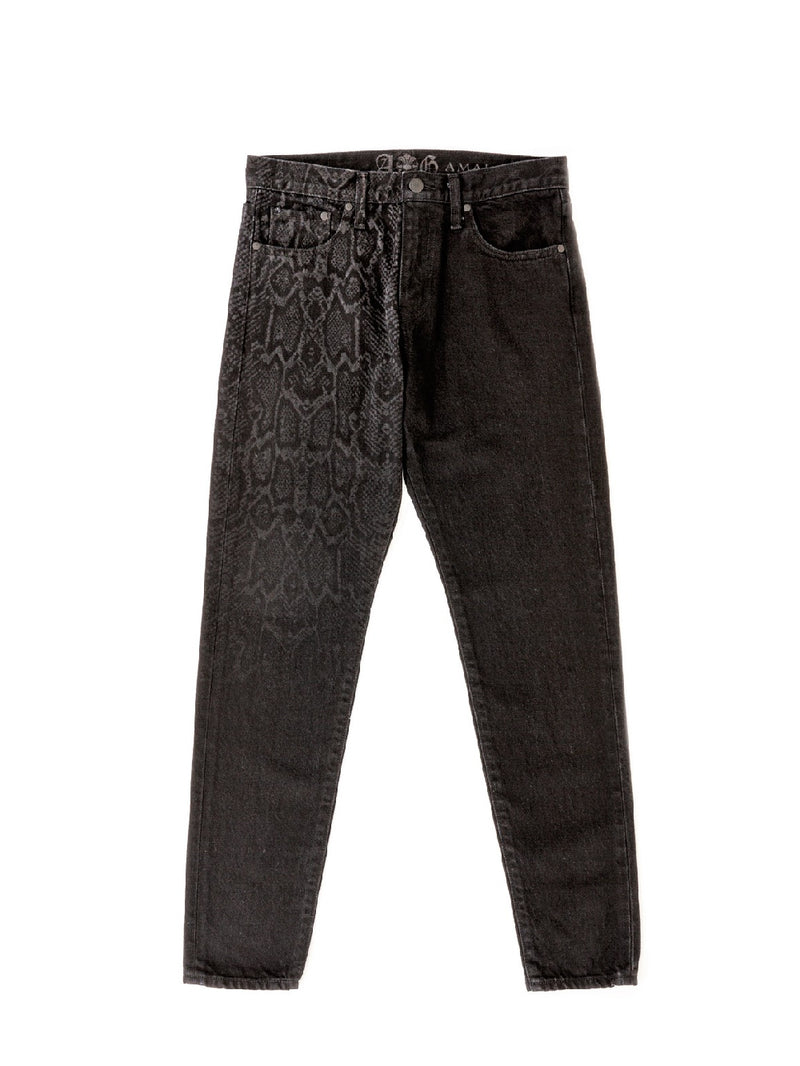 LIMITED DENIM PANTS    PYTHON CRAZY