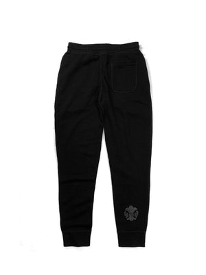 LOGO/FDL-BLACK SWEAT PANTS / JAPAN DEEP BLACK