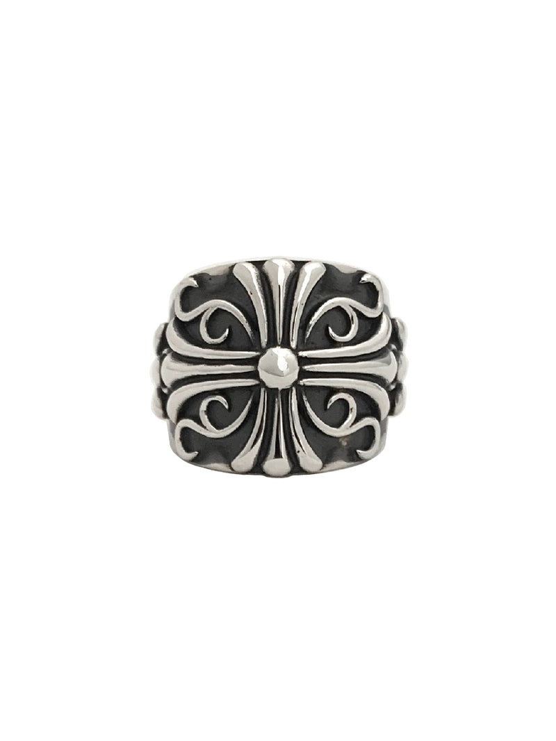 FLORAL CROSS RING