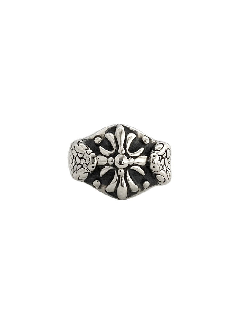 VIPER CROSS RING