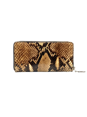 【ORDER ONLY】PYTHON ROUND ZIPPER WALLET / LOGO
