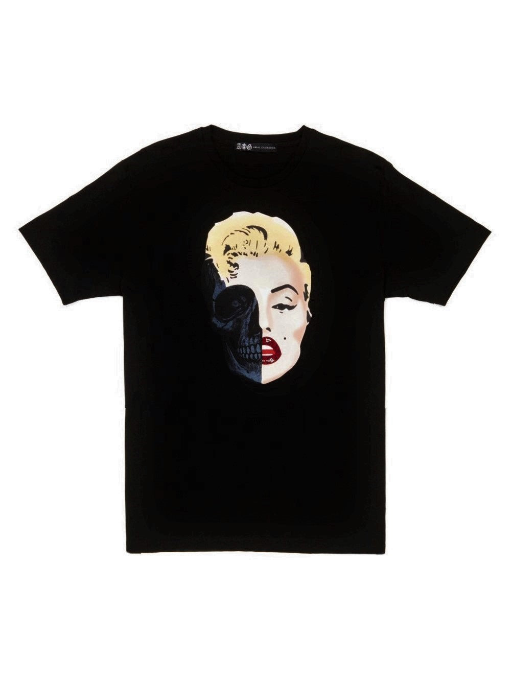 MARILYN SKULL SWAROVSKI T-SHIRT/BLACK