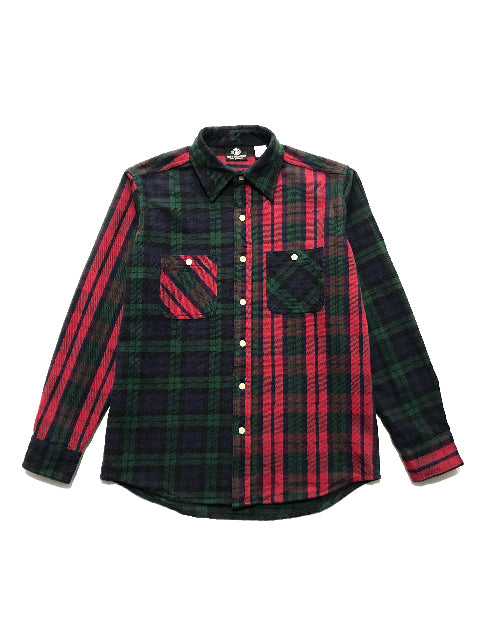 CROSS/RED FLANNEL SHIRT