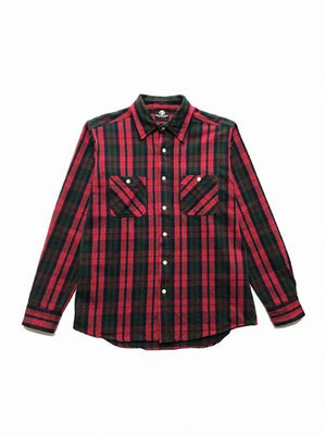SWORD SKULL FLANNEL SHIRT