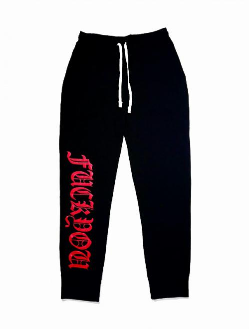 FxxK YOU/RED SWEAT PANTS