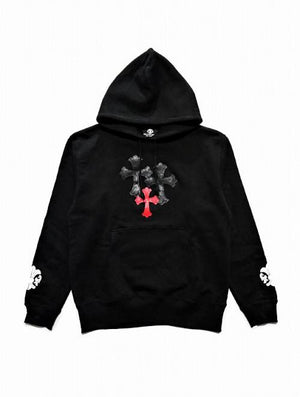 CROSS/ONE RED HOODIE
