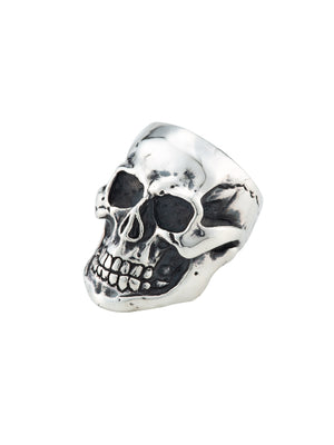LARGE SKULL RING -MIRROR SURFACE-