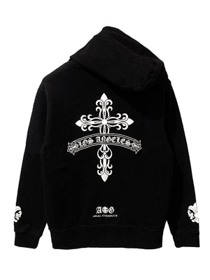 FDL CROSS HOODIE / JAPAN DEEP BLACK