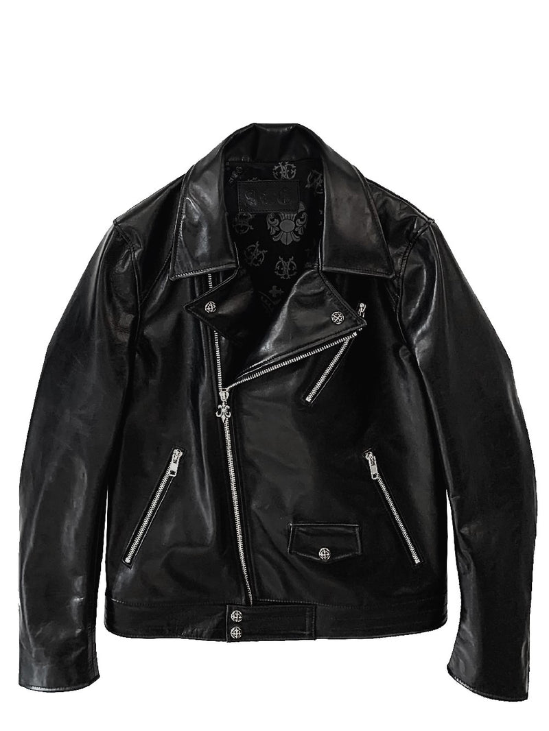 LEATHER JACKET / DOUBLE