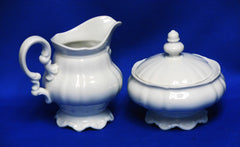Sugar and Creamer Set, Bavarian
