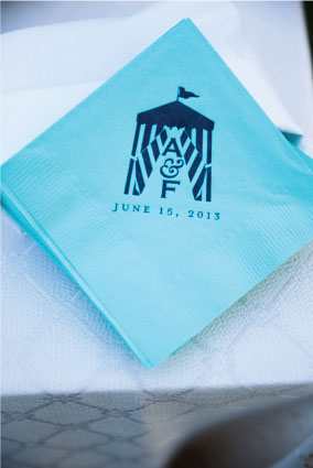 Beach Cabana Cocktail Napkins