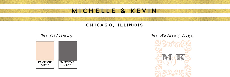 Chicago Trump Hotel Wedding Invitation