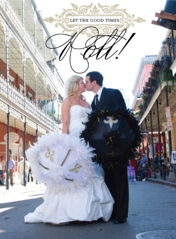 Bride and Groom New Orleans Wedding