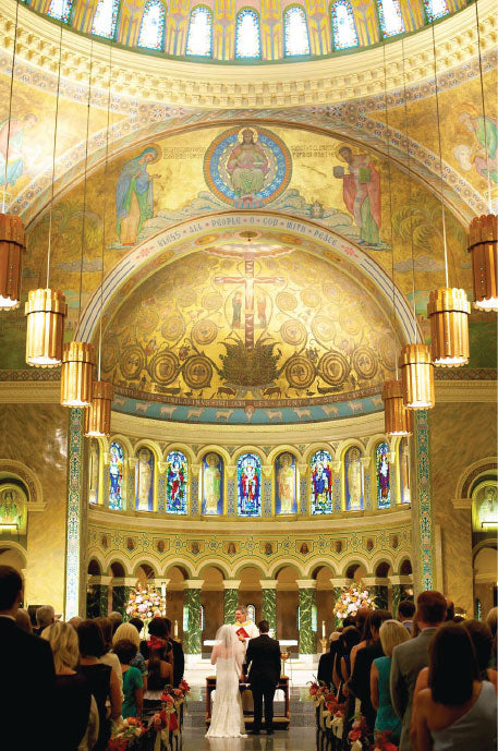 Chicago Catholic Church Wedding