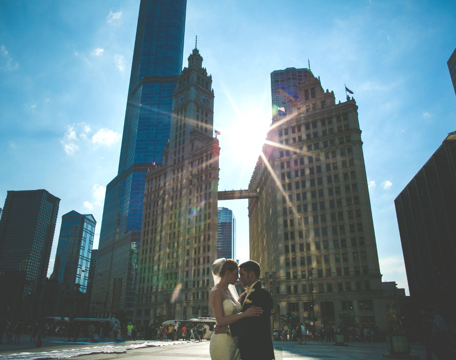 Chicago Wedding Wrigley Building