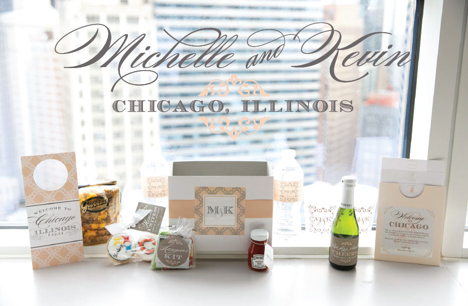 Chicago Wedding Hotel Gifts