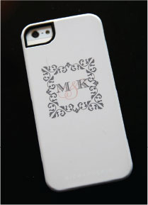 Custom Monogram iPhone Case