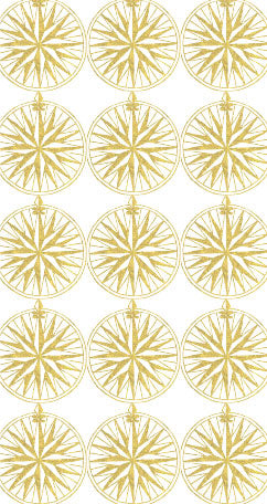 Custom Wedding Logo Nantucket Compass