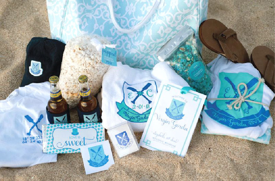 Destination Wedding Welcome Bag