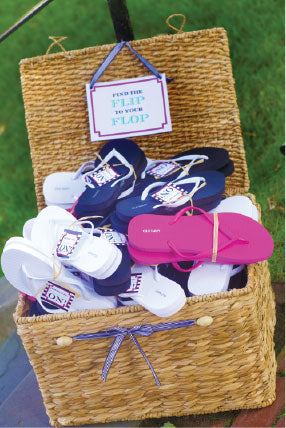Wedding Flip Flop Ideas