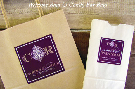 Greenbrier Wedding Welcome Bags