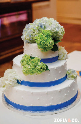 Nantucket Hotel Wedding Cake