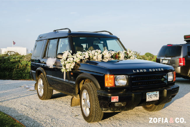 Land Rover Just Married