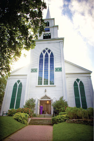 Nantucket Wedding First Congregational Church