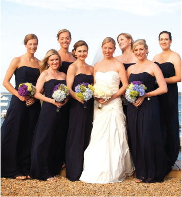 Navy Nantucket Wedding