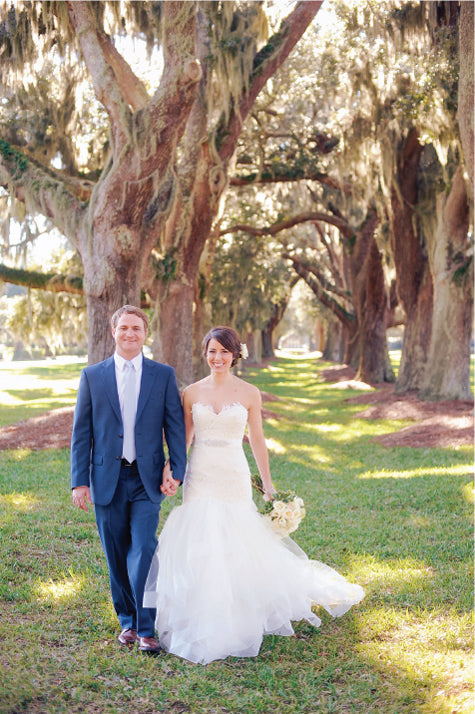 Southern Wedding Couple