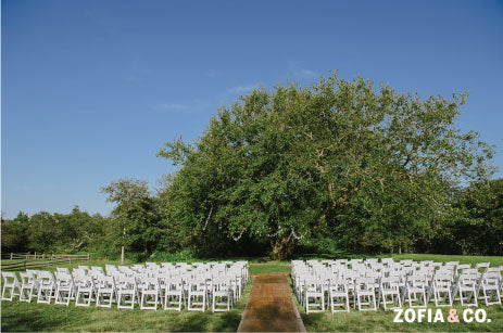 Outdoor Nantucket Wedding
