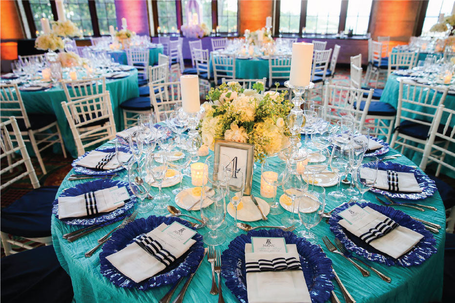 Palm Beach Tablescape