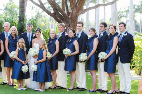 Palm Beach Wedding Party
