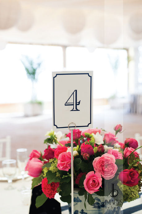 Preppy Table Numbers