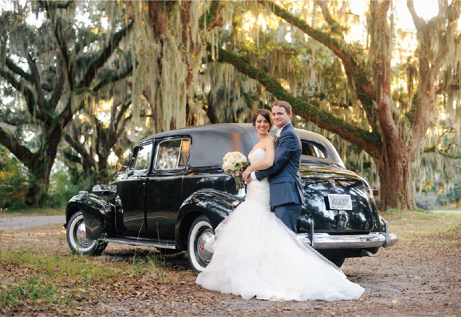Blue and White Southern Wedding