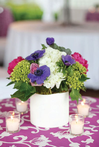 Southern Wedding Floral Arrangement