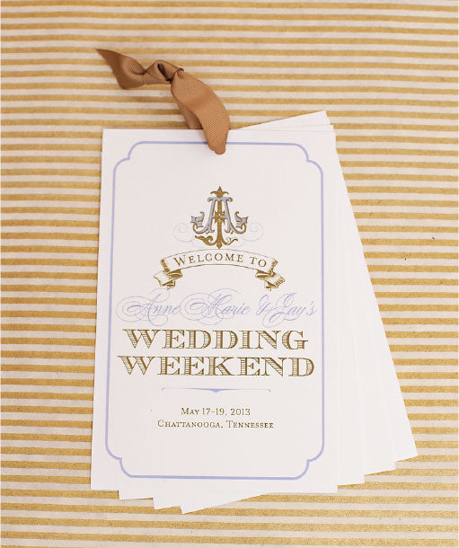 Southern Wedding Welcome Packet