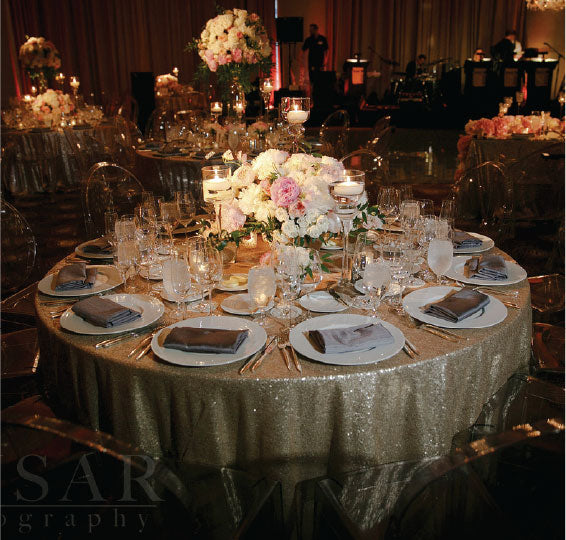 Trump Wedding Tablescape