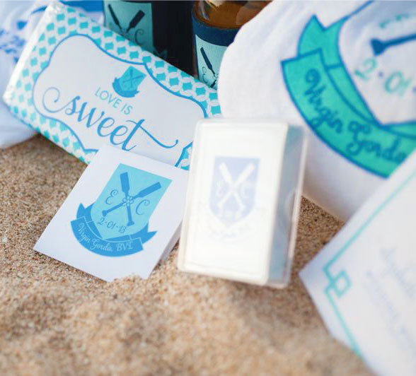 British Virgin Island Wedding Welcome Bag