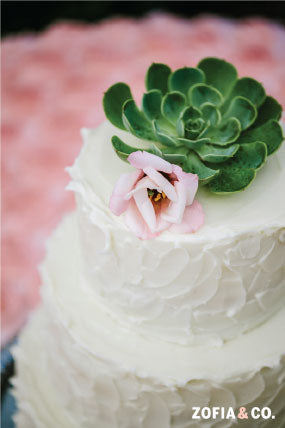 Custom Nantucket Wedding Cake