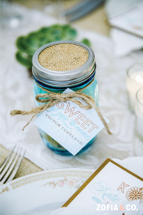 Wedding Favor Tag
