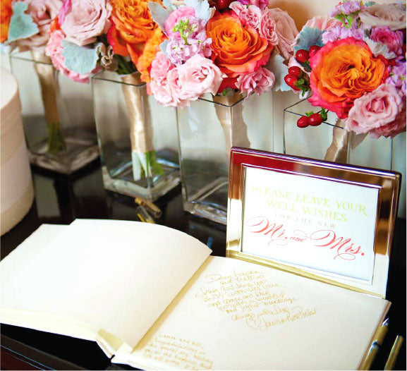 Wedding Reception Guestbook Sign