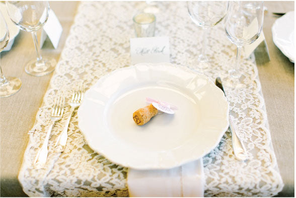 Wine Country Wedding Table Setting