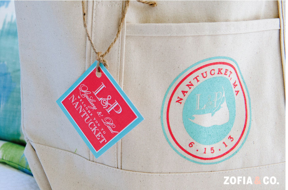 Wedding Welcome Bag Nantucket