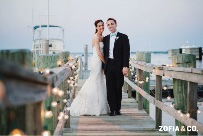 Nantucket Bride and Groom