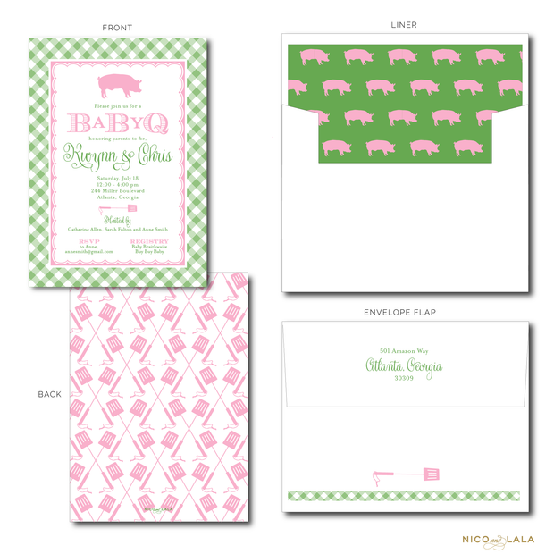 BABY Q BABY SHOWER INVITATIONS
