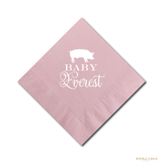 BABY Q BABY SHOWER NAPKINS