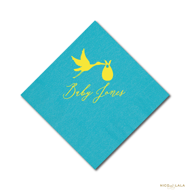 FIESTA BABY SHOWER NAPKINS