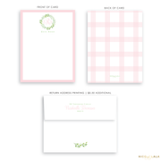 Wreath Stationery