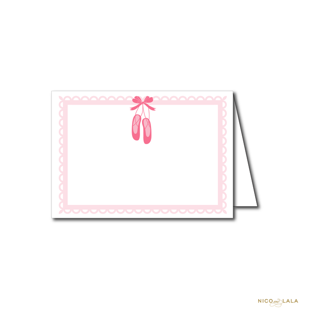 BALLET BIRTHDAY FOOD CARDS